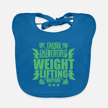 Building Gym - Baby Bib