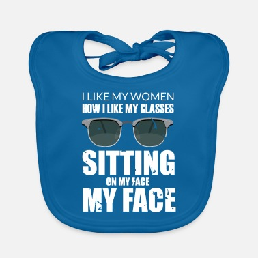 Oral Sex Face Sitting Lesbian Oral Sex graphic | funny - Baby Bib