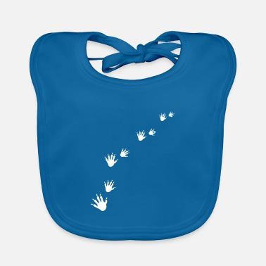 Thief Raccoon thief - Baby Bib