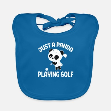 Golf Clubs Panda Golf Panda Golf Golf Club Golf Clubs - Baby Bib