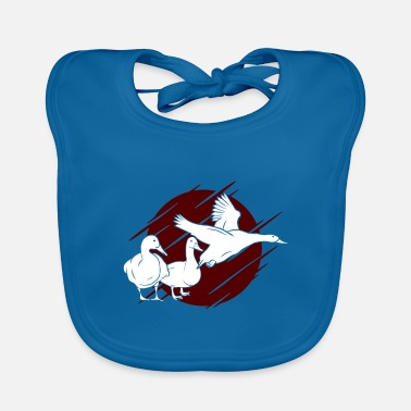 Poultry Goose poultry - Baby Bib