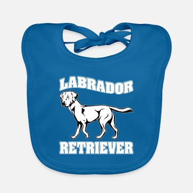 Newfoundland Labrador Retriever LABRADOR RETRIEVER dog pet - Baby Bib