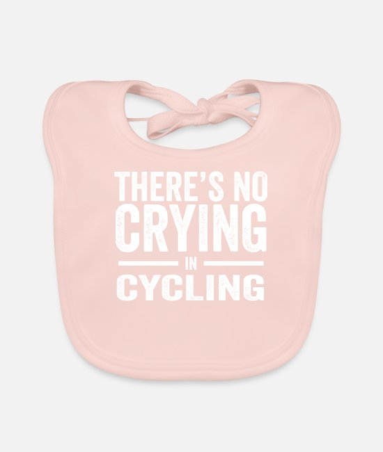 Cycling Baby Bibs - Biking Bike Bike Biker Biking Gift - Baby Bib rose