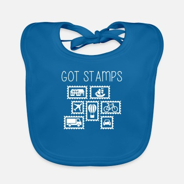 Stamp Stamps? - Baby Bib