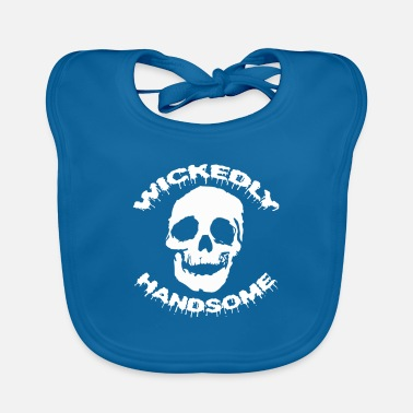Evil Handsome Halloween Shirt Gift - Baby Bib