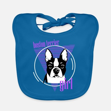 We Are Boston Terriers, Boston Terriers, Dogs For Boston Terriers - Baby Bib
