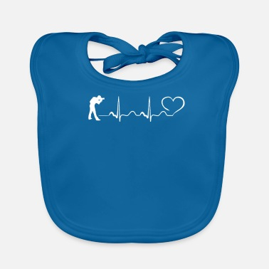 Taking Pictures Photography Heartbeat Ekg PICTURE TAKING DESIGN - Lätzchen