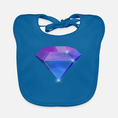 Diamonds Diamond Diamond - Baby Bib