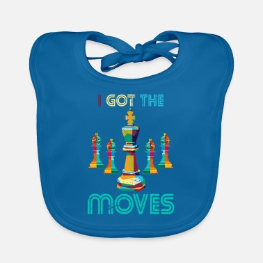 Chess Chess move sport - Baby Bib