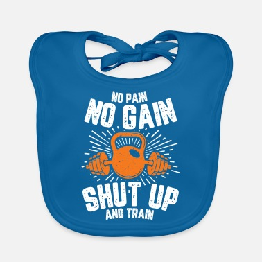 Motion No pain no gain - Baby Bib