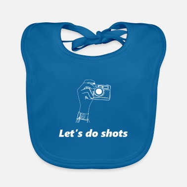Selfie Photography Lovers Camera Photographer Funny Gift - Baby Bib
