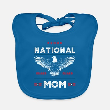 Militair Trotse National Guard Mom Memorial Day Gift - Slabbetje