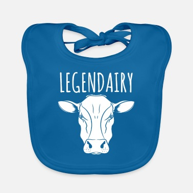 Up Cow Lover Gift - Legendairy Animal - Lätzchen