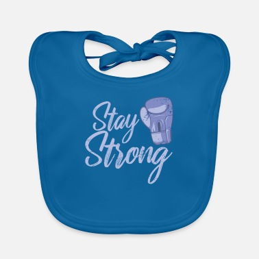 Sieg Stay Strong boxes - Baby Bib