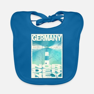East Nordeney Germany gift idea - Baby Bib