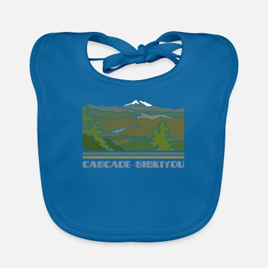 Us Cascade – Siskiyou Shirt National Monument Nature So - Bavoir Bébé