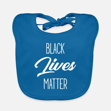 Power Simple Black Lives Matter - Protest Black History - Baby Bib