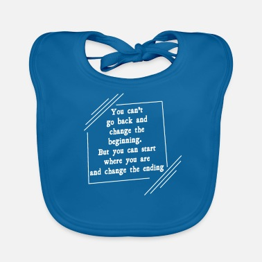 Love Start and end - Baby Bib