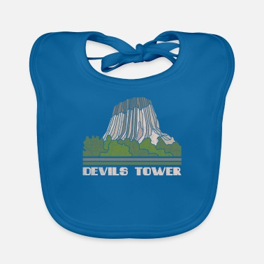 Devils Tower Shirt National Monument Nature Souven - Baby Bib