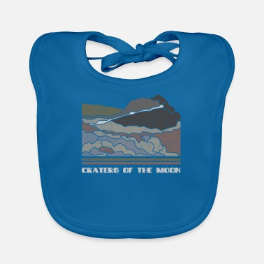 Craters of the Moon Shirt National Monument Nature - Baby Bib