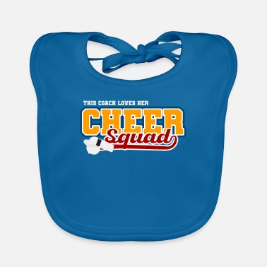 Cheers This Coach Loves Her Cheer Squad I Cheerleader Coa - Baby Bib