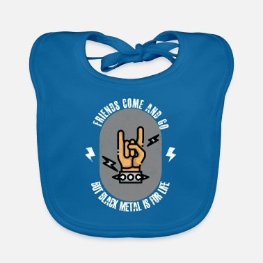 Heavy Metal Death metal saying - Baby Bib