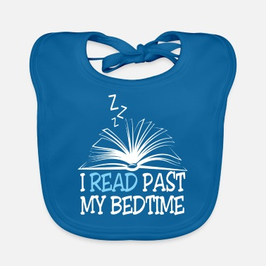 Tension Reading book reading book reader nerd geek literature - Baby Bib