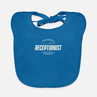 Hotel Receptionist Reception Reception Counter Profession - Baby Bib