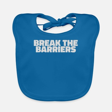 Hurdle Break through barriers - Baby Bib