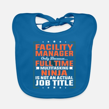 Plant Facility manager profession employee gift idea - Baby Bib