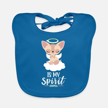 Spirit Chihuahua Is My Spirit Animal I Hundeliebe Motiv - Lätzchen