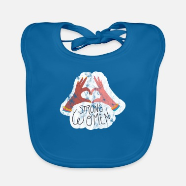 501 Women will rise - Women's Power - Equality - Baby Bib