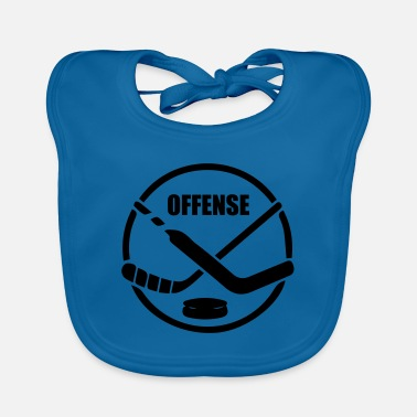 Offensive Hockey offense - Baby Bib