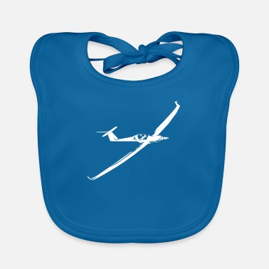 Airfield Gliding glider pilot flying airfield - Baby Bib