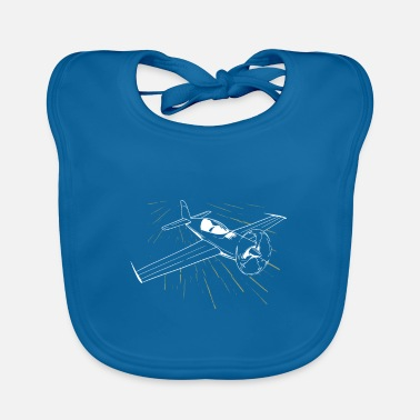 Airfield Airplane flying pilot airfield - Baby Bib