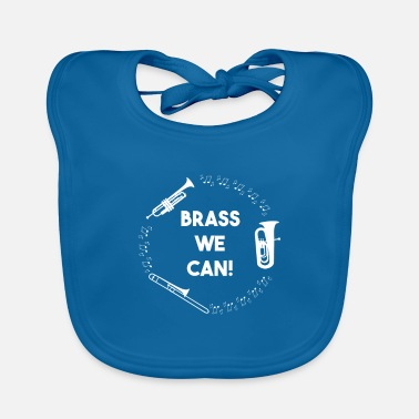 Wind Woodwind Wind Instruments Musician Funny gift - Baby Bib