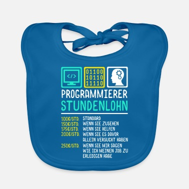 Wages Programming hourly wage - Baby Bib