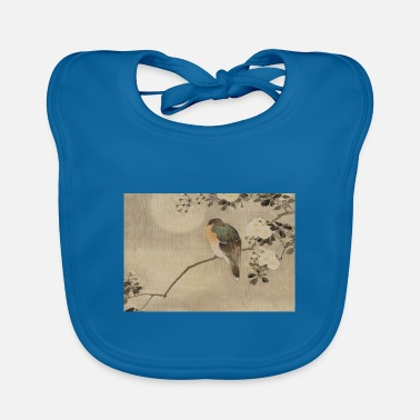 Asian Asian bird - Baby Bib