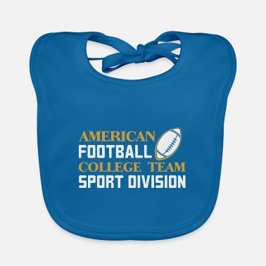 American Football Team American Football Team - Baby Bib