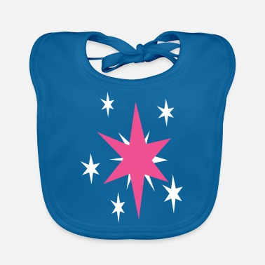 Mark Something Twilight Sparkle cutie mark - Baby Bib