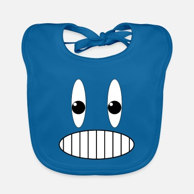 Grins Grinning face grin - Baby Bib