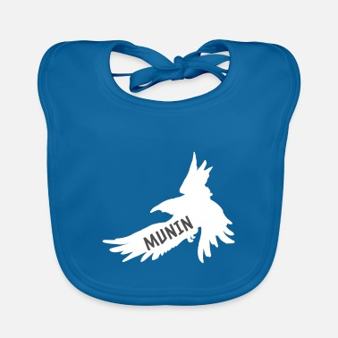 Wotan Hugin and Munin Raven Odin's Partner Look - Baby Bib