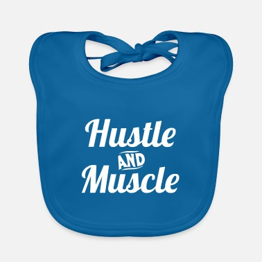 Meme Hustle And Muscle Kickboxing Kickboxer Workout - Lätzchen