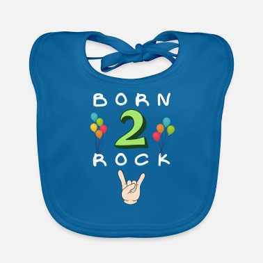 Birthday 2nd birthday - Baby Bib