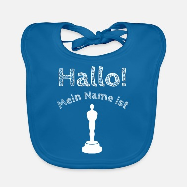 Oskari Hello, my name is Oskar | Oscar | name shirt - Baby Bib
