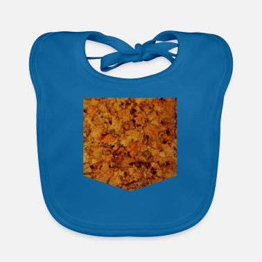 Cork Cork pocket - Baby Bib
