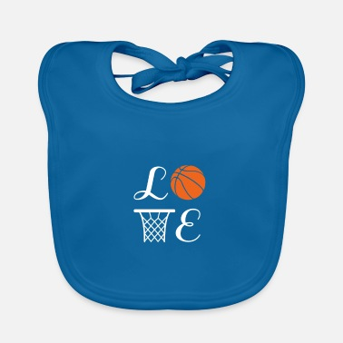 Basket Basketball Player Team Mom Coach Gift - Baby Bib
