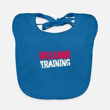 Billiards Training Billiard training - Baby Bib