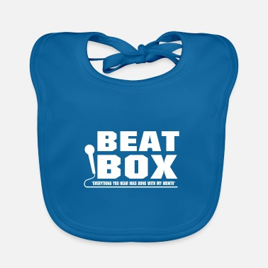 Letter Boxing Beat Box lettering - Baby Bib