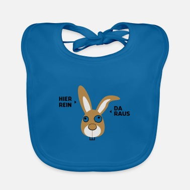 My name is Bunny - Baby Bib
